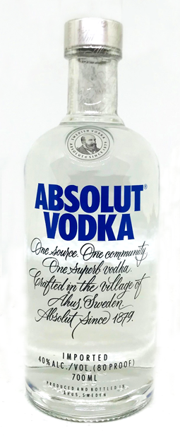 Absolut Vodka 1000 ml