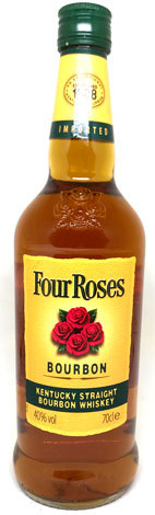 Four Roses Bourbon Whiskey 0,70 L