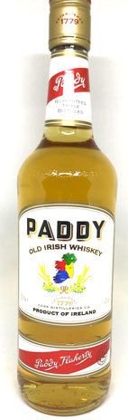 Paddy Irish Whisky 0,70 L